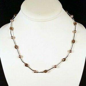 Lia Sophia 'Brown Sugar' Necklace